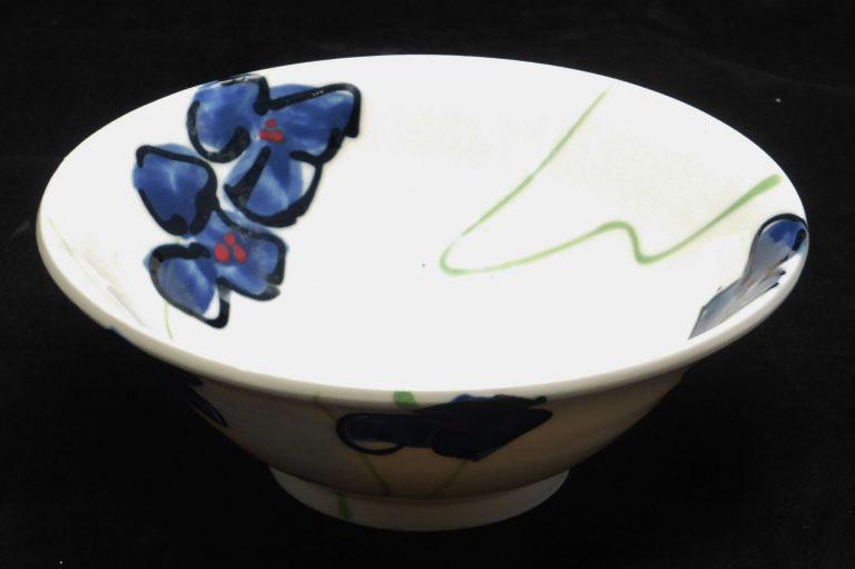 Basalt servies porselein schaaltje Blauwe bloem