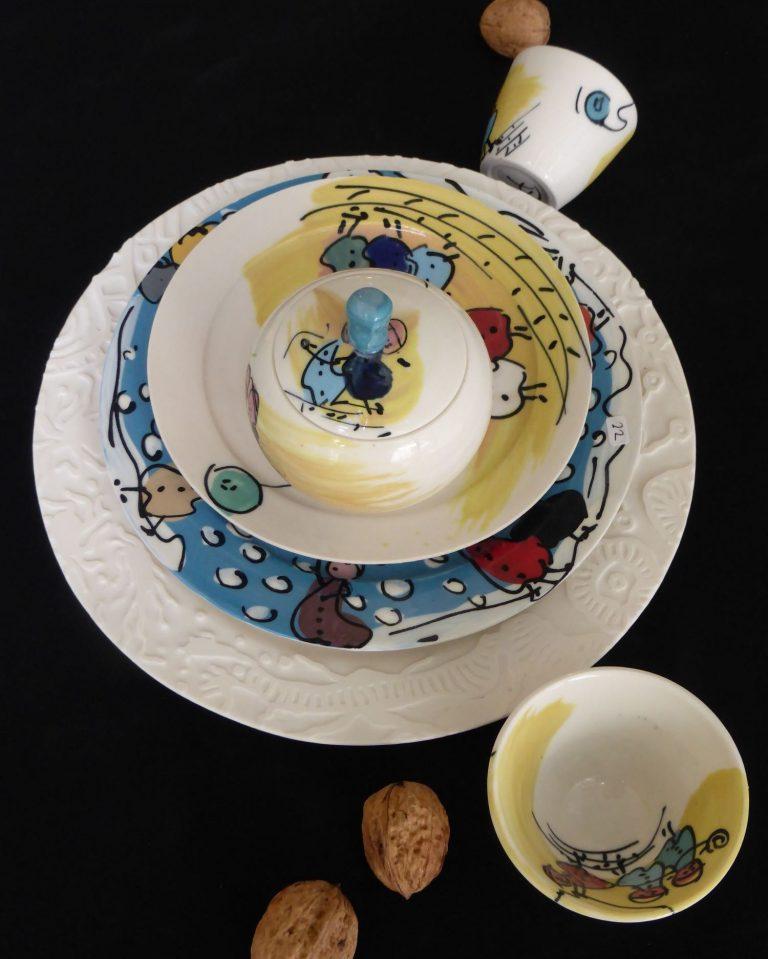 Basalt servies porselein servies Kinderen