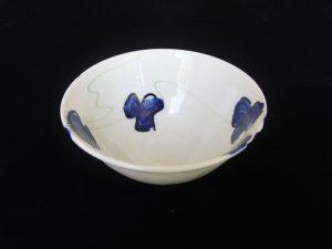Basalt servies porselein kom Blauwe bloem