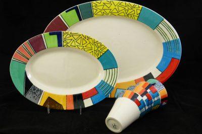 Basalt servies porselein overzicht serviezen